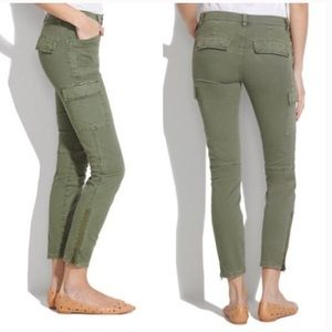 Madewell olive cargo pants